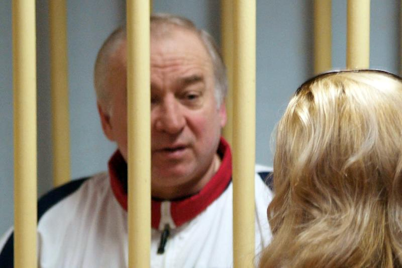 Sergei Skripal, seen here on August 9, 2006, was poisoned along with his daughter Yulia with a powerful nerve agent in the English city of Salisbury (AFP Photo/Yuri SENATOROV)