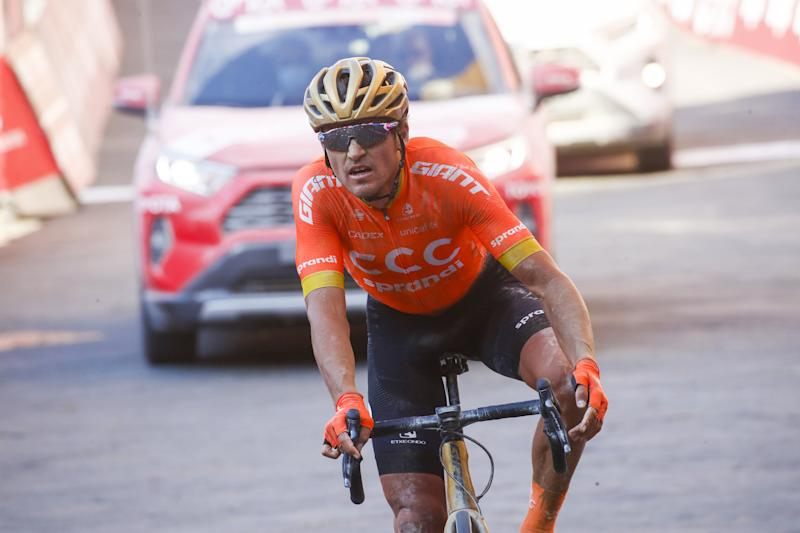 Strade Bianche 2020 - 14th Edition - Siena - Siena 184 km - 01/08/2020 - Greg Van Avermaet (BEL - CCC Team) - photo Luca Bettini/BettiniPhoto©2020