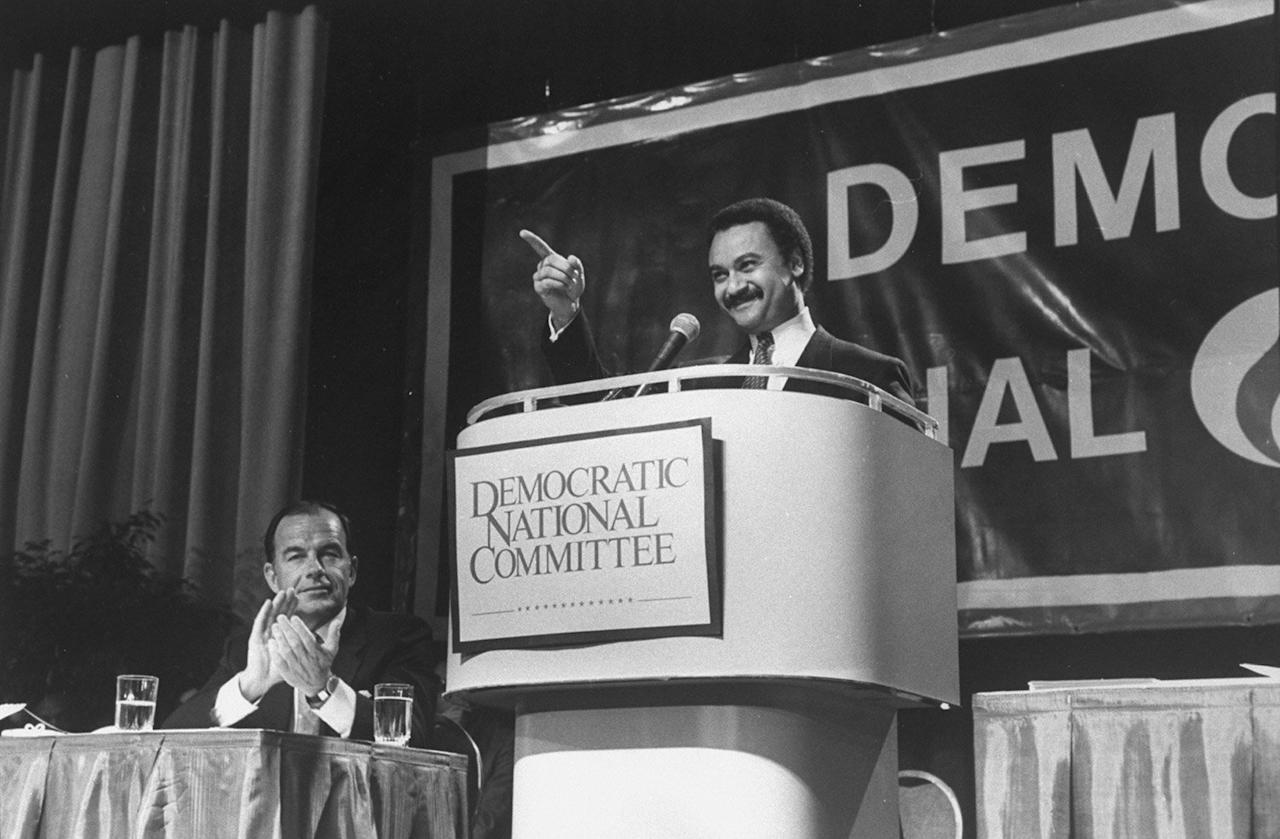 """On this day in history, the then-47-year-old influential lawyer became the first black chairman of the Democratic National Committee.  ''We cannot ignore the history of this moment,'' Brown told committee members after his election, as reported by <a href=""""https://www.nytimes.com/1989/02/11/us/first-black-chosen-by-democrats-to-head-the-national-committee.html?login=email&auth=login-email""""><em>The New York Times.</em></a> ''In choosing the first American of African descent to lead one of America's political parties, you have made history.''  Brown went on to serve as the first black U.S. Secretary of Commerce under president Bill Clinton's administration before he was killed in a plane crash in April 1996 along with 34 others, according to <a href=""""https://www.politico.com/story/2017/04/ron-brown-dies-in-plane-crash-april-3-1996-236759""""><em>Politico</em></a>."""