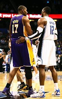 The Lakers would trade Andrew Bynum for Dwight Howard, but that would still be a big drop-off in talent for the Magic
