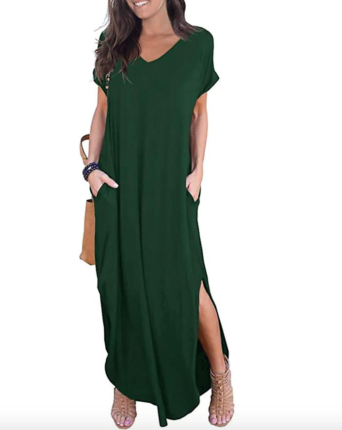 """Available in sizes XS to 2X. <a href=""""https://amzn.to/2Vcdgoz"""" rel=""""nofollow noopener"""" target=""""_blank"""" data-ylk=""""slk:Get it on sale for $29"""" class=""""link rapid-noclick-resp"""">Get it on sale for $29</a>. (Prices may vary by size and color)."""