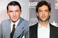 "<p>The popular American actor, who starred in classic films such as <em>Roman Holiday</em> (1953) and <em>How the West was Won </em>(1962), and had an Oscar-winning turn in <em>To Kill a Mockingbird</em> (1962), passed on his acting chops to grandson Ethan, who <a href=""https://people.com/movies/ethan-peck-4-things-to-know-to-know-about-the-midnight-sky-actor/"" rel=""nofollow noopener"" target=""_blank"" data-ylk=""slk:stars in the upcoming George Clooney Netflix film"" class=""link rapid-noclick-resp"">stars in the upcoming George Clooney Netflix film</a> <em>The Midnight Sky </em>as a younger version of Clooney himself.</p> <p>""I think I had a full panic attack,"" Ethan told <a href=""https://www.cbs.com/shows/watch_magazine/archive/1009348/getting-to-know-ethan-peck-of-star-trek-discovery/"" rel=""nofollow noopener"" target=""_blank"" data-ylk=""slk:CBS' Watch magazine"" class=""link rapid-noclick-resp"">CBS' <em>Watch</em> magazine</a> in 2019 of landing the role of a younger version of Clooney's character, Augustine Lofthouse. ""I had to sit down on the curb, and I was in tears.""</p> <p>Ethan has also starred in the TV adaptation of <em>10 Things I Have About You</em> as Patrick Verona and the TV series <em>Star Trek: Discovery</em> as Spock.</p>"