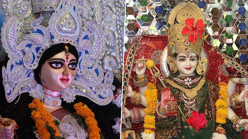 Navratri and Durga Puja: What Is the Difference? From Rituals & Idols to Bhog & Shubh Muhurat, Here's What Varies The Two Celebrations That Share The Same Spirit