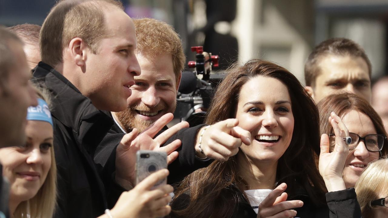 The royals offered words of encouragement to those who ran in support of their charity, Heads Together