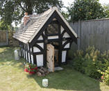 <p>BUDGET:<br>Tudor Playhouse – owned by Craig Clavin in Norfolk (Picture: Shed of the Year) </p>