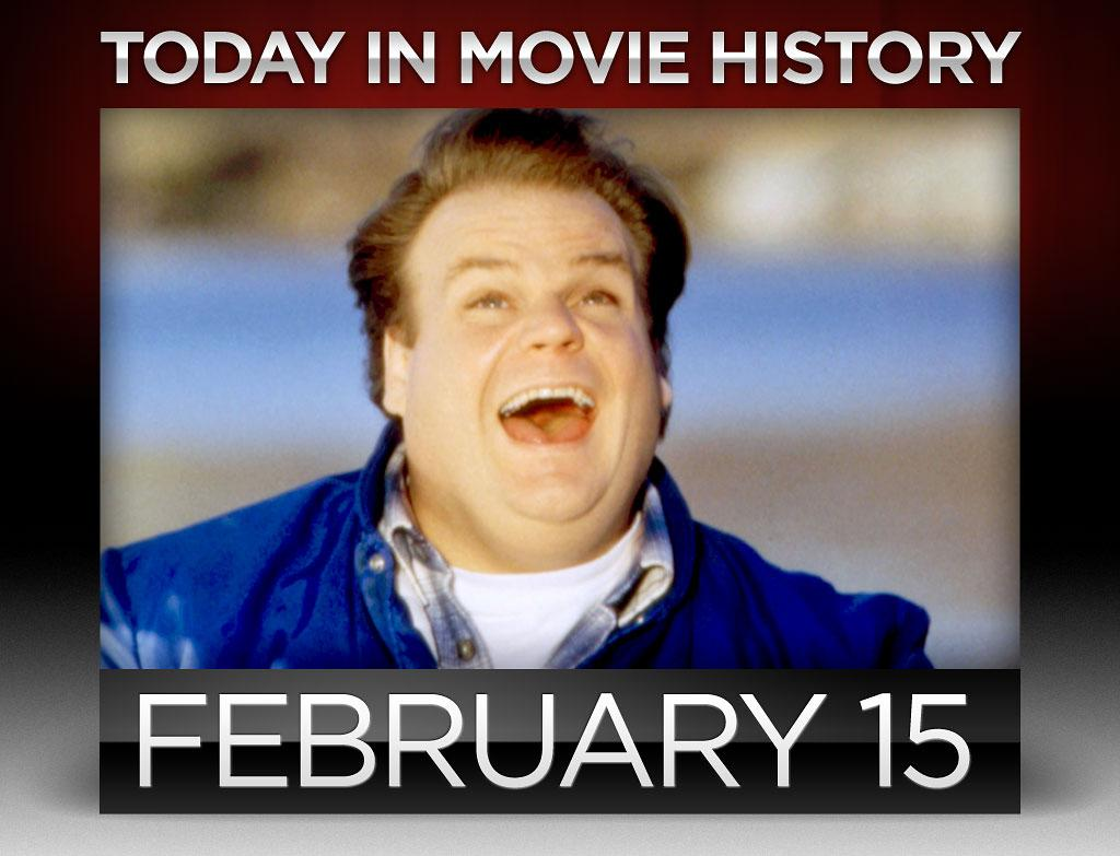 "<p><strong>1964</strong> – <a href=""http://movies.yahoo.com/person/chris-farley/"">Chris Farley</a> was born on this day in Madison, Wisconsin. After making quite a name for himself at ""Saturday Night Live,"" Farley went on to star in some of the best comedies of the '90s, including ""Tommy Boy,"" which made the phrase ""Holy Schnike"" ubiquitous. Sadly, Farley died at 33, the same age as his idol and fellow ""SNL"" alum, John Belushi. Like Belushi, Farley leaves behind a multitude of hilarious films that continue resonate. <br /><br /><br /></p>"