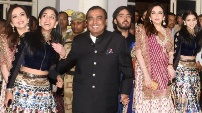 The Ambani family is in Jodhpur currently for Priyanka Chopra and Nick Jonas' wedding festivities. And Anant Ambani's rumoured girlfriend Radhika Merchant also accompanied them.