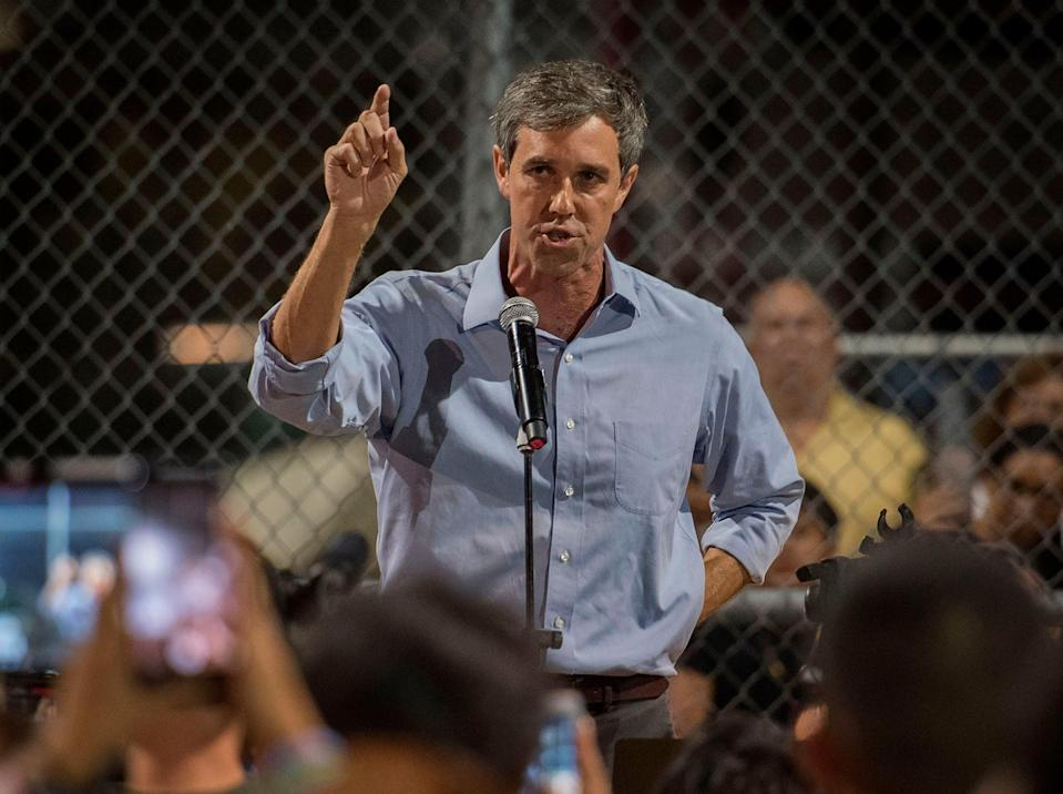 Former Texas congressman and presidential candidate Beto O'Rourke is readying a potential 2022 run for the Texas governorship.  (AFP)