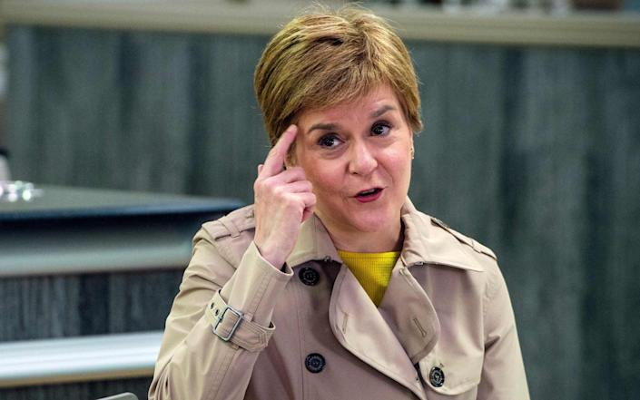 Scotland's First Minister and leader of the Scottish National Party (SNP), Nicola Sturgeon - AFP