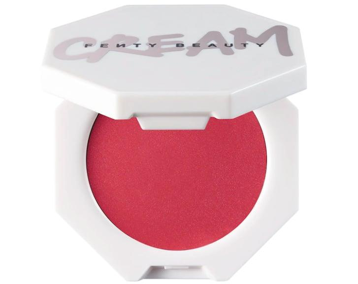 <p>I've always been told that blush is key to a healthy-looking complexion and that feels even more important in a world with the coronavirus. Just a quick swipe of the <span>Fenty Beauty Cheeks Out Freestyle Cream Blush in Summertime Wine</span> ($20) helps me look more awake and refreshed. </p>