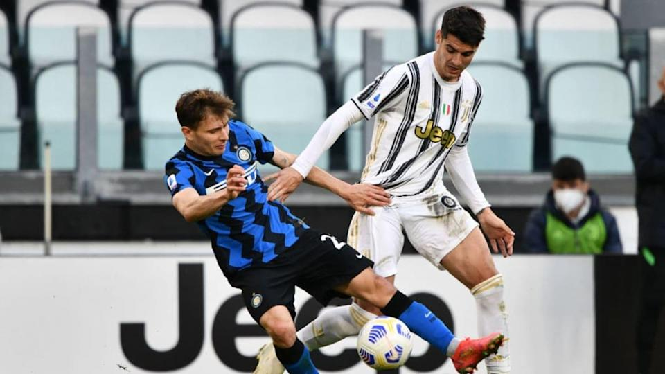 Barella nell'ultimo Juve-Inter   Chris Ricco/Getty Images