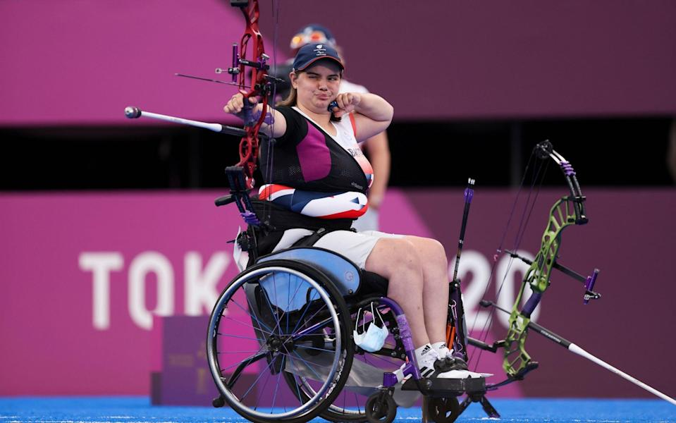 Victoria Rumary defeated the United States' Lia Coryell to win the bronze medal match - GETTY IMAGES
