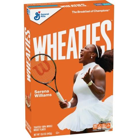 Wheaties Scores an Ace with Serena Williams Wheaties™ Box