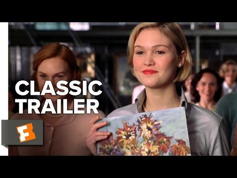 """<p>An outspoken young professor (played by Julia Roberts) begins teaching at Wellesley College in the 1950s and encourages her students to aim for more in life than marriage.</p><p><a class=""""link rapid-noclick-resp"""" href=""""https://www.amazon.com/Mona-Lisa-Smile-Ginnifer-Goodwin/dp/B000JD1CBY/ref=sr_1_1?tag=syn-yahoo-20&ascsubtag=%5Bartid%7C10067.g.9154432%5Bsrc%7Cyahoo-us"""" rel=""""nofollow noopener"""" target=""""_blank"""" data-ylk=""""slk:Watch Now"""">Watch Now</a></p><p><a href=""""https://www.youtube.com/watch?v=VqexVyd_ybI"""" rel=""""nofollow noopener"""" target=""""_blank"""" data-ylk=""""slk:See the original post on Youtube"""" class=""""link rapid-noclick-resp"""">See the original post on Youtube</a></p>"""