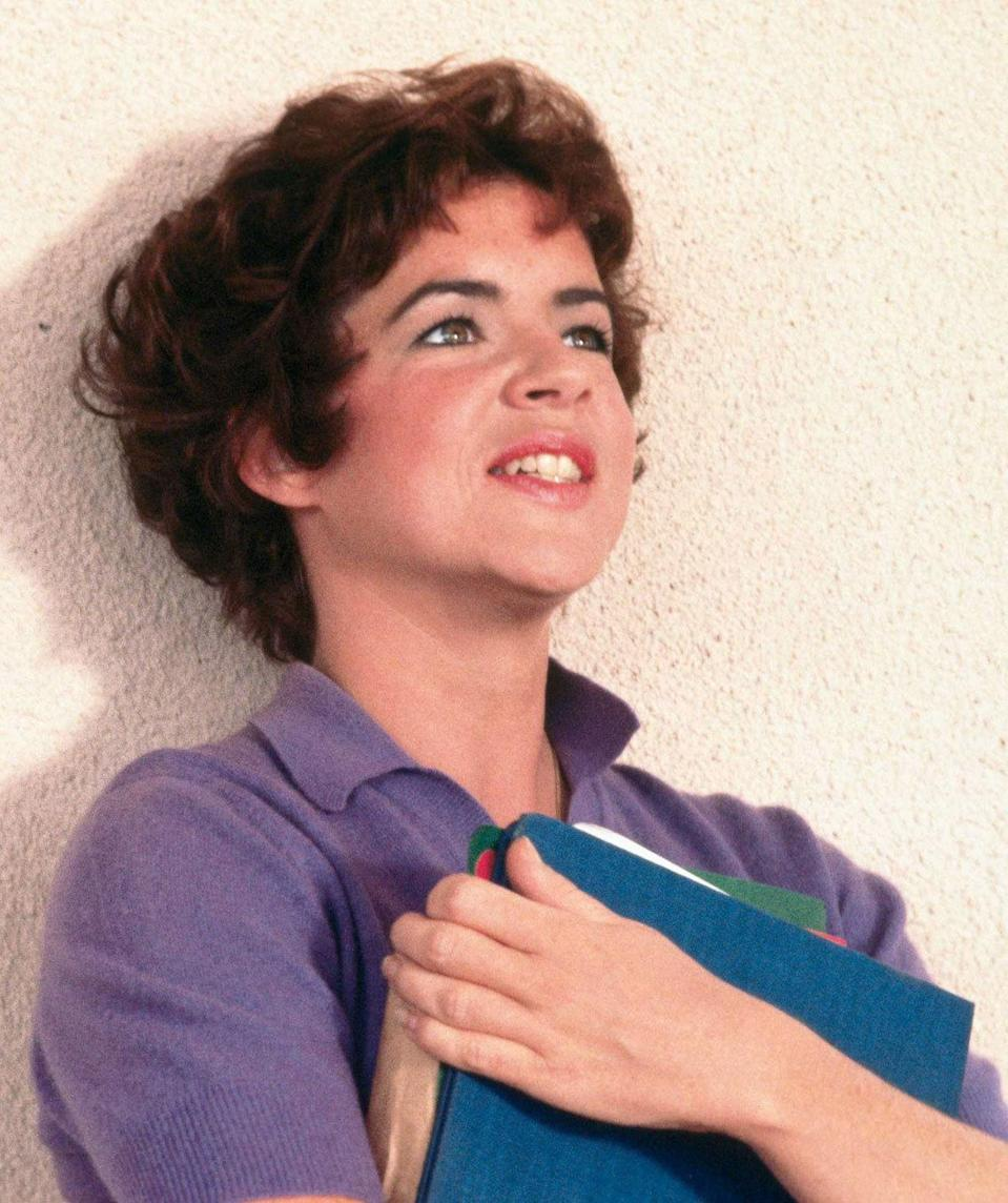 Stockard Channing as Betty Rizzo in 'Grease' (1978) Real age at the time: 34 - Character age: 17