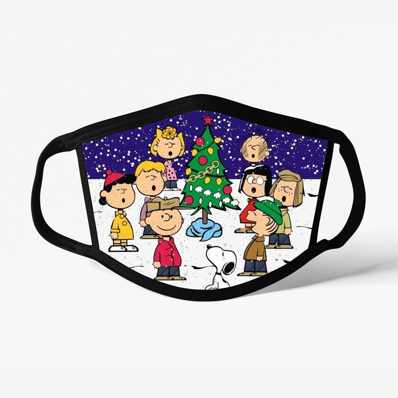 Charlie Brown Decorative Face Mask