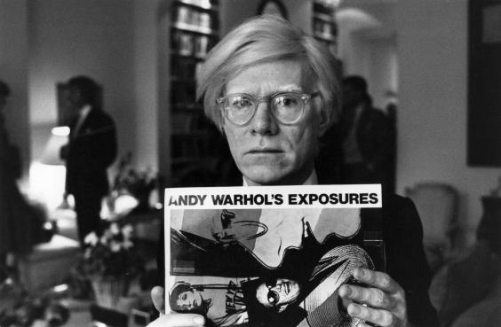 American pop artist and filmmaker Andy Warhol was born in 1928 (Getty)