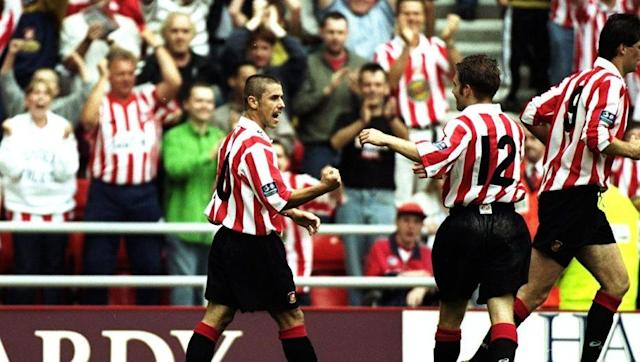<p><strong>Debut Season: </strong>1997/98</p> <br><p>Sunderland's move from the old Roker Park to the Stadium of Light coincided with a fresh start in the second tier after relegation from the Premier League the previous season.The Black Cats were ultimately a penalty shootout away from an immediate return to the top flight.</p> <br><p>Their second season at the Stadium of Light proved even better, as the team swept Division One under the guidance of Peter Reid, amassing an incredible 105 points in the process. That momentum then carried through to a 7th place Premier League finish in 1999/00.</p> <br><p><strong>First Away Team to Win: </strong>Norwich City (30th August 1997)</p>