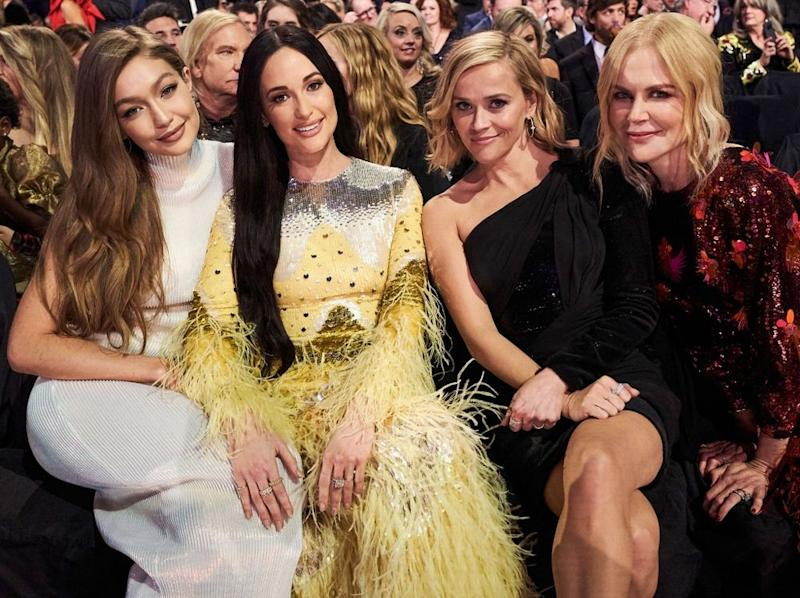 Gigi Hadid, Kacey Musgraves, Reese Witherspoon and Nicole Kidman | John Shearer/Getty