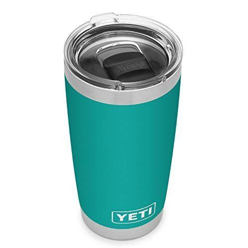 """<p><strong>YETI</strong></p><p>amazon.com</p><p><strong>$29.98</strong></p><p><a href=""""https://www.amazon.com/dp/B08RLSLFRM?tag=syn-yahoo-20&ascsubtag=%5Bartid%7C10055.g.4352%5Bsrc%7Cyahoo-us"""" rel=""""nofollow noopener"""" target=""""_blank"""" data-ylk=""""slk:Shop Now"""" class=""""link rapid-noclick-resp"""">Shop Now</a></p><p>Take her daily coffee habit up a notch with this tumbler. Because of its vacuum seal construction, the 20 oz. cup can keep drinks hot or ice cold until the very last sip. </p>"""