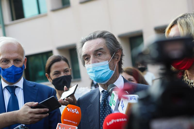The President of Lombardy Region Attilio Fontana  (Photo: NurPhoto via Getty Images)