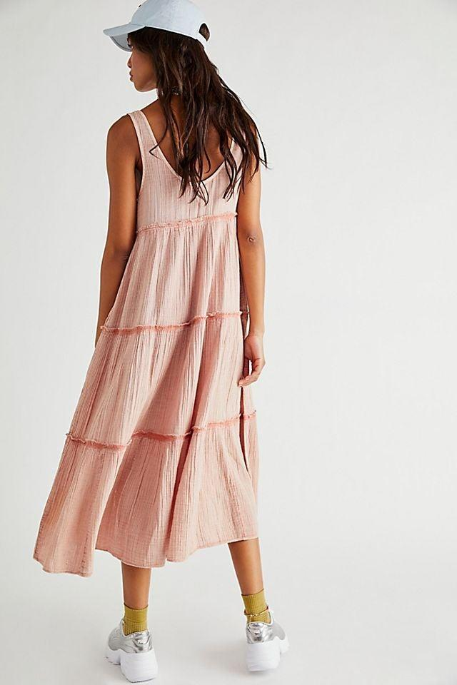 """<br><br><strong>Free People</strong> Natalie Midi Dress, $, available at <a href=""""https://go.skimresources.com/?id=30283X879131&url=https%3A%2F%2Fwww.freepeople.com%2Fshop%2Fnatalie-midi-dress2%2F"""" rel=""""nofollow noopener"""" target=""""_blank"""" data-ylk=""""slk:Free People"""" class=""""link rapid-noclick-resp"""">Free People</a>"""