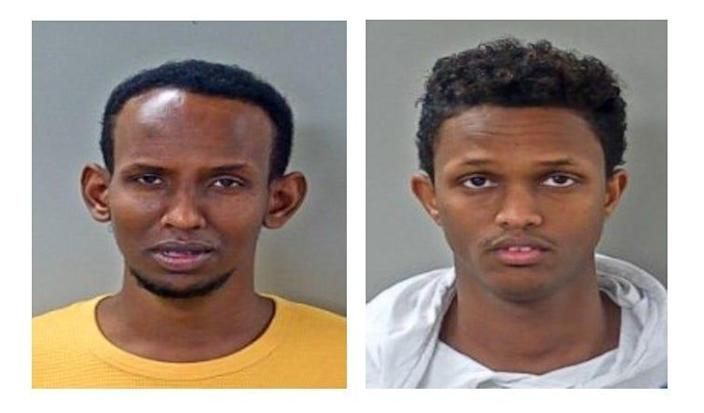 Mohamed Gure and Mohamed Osman were charged with stealing from MTSU.