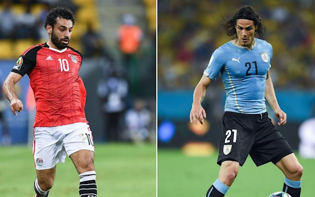 "What is it? The second match of the 2018 World Cup sees Egypt take on Uruguay in a match that could go some way to deciding the winner of Group B. When is it? Friday, June 15. What time is kick off? 1pm UK time. What TV channel is it on? The BBC will be given their first opportunity to show off their new star-studded punditry team, with coverage scheduled for a 12:30pm start on BBC One. Where is it being played? Central Stadium, Yekaterinburg, which has had its capacity increased to 35,000 especially for the World Cup. Mohamed Salah is in a race to be fit for Friday's match Credit: AFP Will Mohamed Salah play? The Liverpool forward has given his national team a timely boost less than 48 hours until their first World Cup game. Egypt's star man was a major doubt for the competition after injuring shoulder ligaments in a clash with Sergio Ramos during Liverpool's Champions League final defeat to Real Madrid. On Monday, Egypt's medical staff stated they remained unsure whether he would be fit for their opening game as he did not take part in a training session. Mohamed Salah shares a joke with his Egypt teammates ahead of Friday's clash with Uruguay Credit: AFP However on Wednesday afternoon the 25-year-old took part in an Egypt training session, going through a range of warm-up exercises with his teammates. ""I can almost assure you 100 per cent he will play, save unforeseen circumstances at the very last minute,"" said Egypt's coach, Hector Cuper, on the eve of the game. What's the team news? Luis Suarez, Uruguay's all-time leading goalscorer, will once again lead the line for his country Credit: Reuters Uruguay's all-time leading goalscorer Luis Suarez will lead the line for the South Americans alongside PSG striker Edinson Cavani. The pair have 91 international goals between them and will be supported in attack by 26-year-old playmaker Matias Vecino, who impressed at Inter Milan last season. Arsenal target, Lucas Torreira, who is understood to have been the subject of £25m bid from the London club, could start in holding midfield. What are they saying? Egypt head coach Hector Cuper with star man Mohamed Salah Credit: AFP Salah's presence will be hailed by his country who feared the worst when his shoulder suffered under the weight of a challenge by Sergio Ramos in Kiev. It is also good news for the competition given the genuine concern for his fitness in the immediate aftermath of the final. But in the build-up, Cuper insisted his side could survive even without their talismanic playmaker. ""Egypt is lucky that this generation has one of the best players in the world but our tactics don't solely revolve around him,"" he told Egyptian TV. ""Argentina also has Lionel Messi, can we tell them not to play him? This doesn't happen."" Uruguay top goalscorer Luis Suarez has insisted he is a much more mature player since sparking controversy in his previous two World Cup tournaments. Luis Suarez is hoping to avoid any controversy in this year's World Cup Credit: Getty Images The Barcelona forward prevented a certain goal for Ghana with a deliberate handball on the line in 2010 and then infamously bit Italy defender Giorgio Chiellini in Brazil 2014. ""The games are very demanding and I have matured a lot,"" he said ahead of Uruguay's first match. ""But despite changing in some aspects, my way of playing will be exactly the same because that's how I live football and how I'm like. ""Nobody has ever given me anything and as a boy I learned to enjoy each time I have the ball. ""Any player dreams of playing in and winning a World Cup. Now South Africa 2010 and Brazil 2014 are in the past. I arrive with other expectations, other players and other sensations that motivate you to go far in the World Cup,"" World Cup 2018 