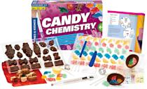 <p>Combine STEM learning with their love of candy thanks to this <span>Candy Chemistry Kit</span> ($33).</p>