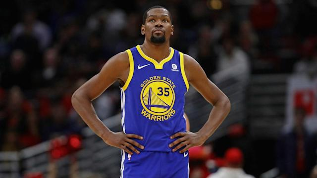 Durant will decline his player option for the 2018-19 season so he can restructure a new contract with Golden State.