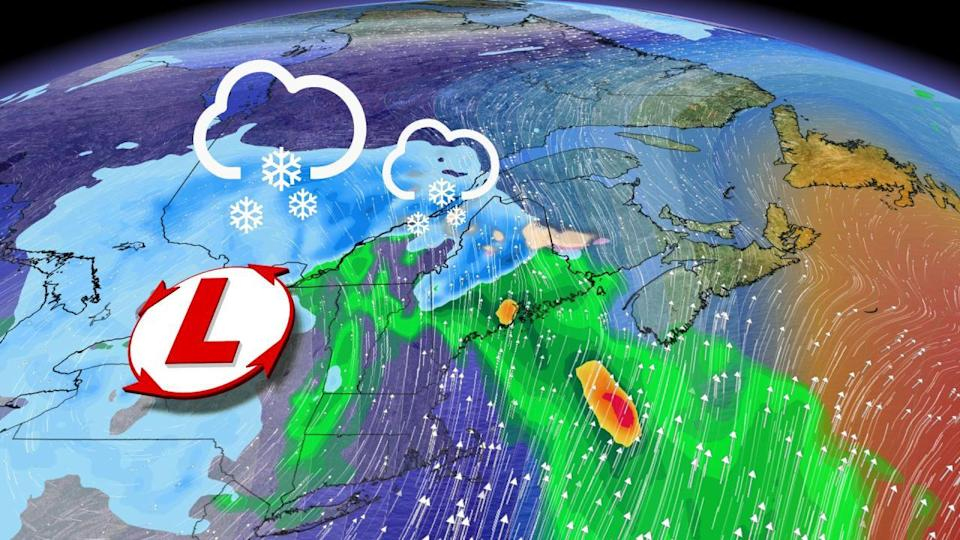Incoming storm threatens significant snow over eastern Canada this weekend