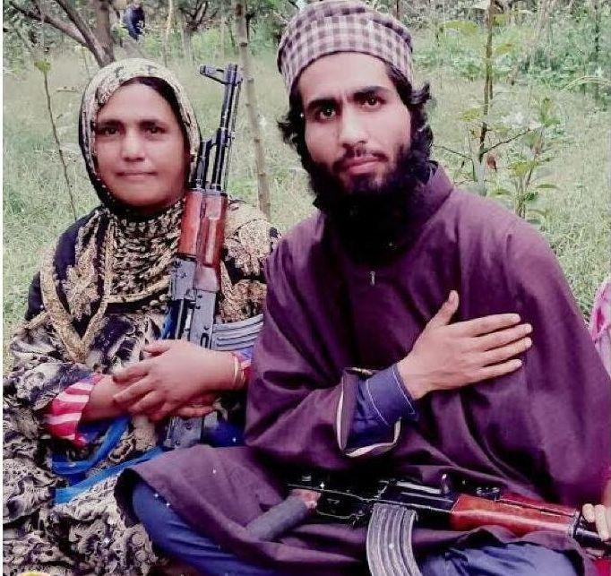 On 28 June, Naseema Bano was booked under the Unlawful Activities Prevention Act or UAPA. (Photo: Jammu and Kashmir Police )