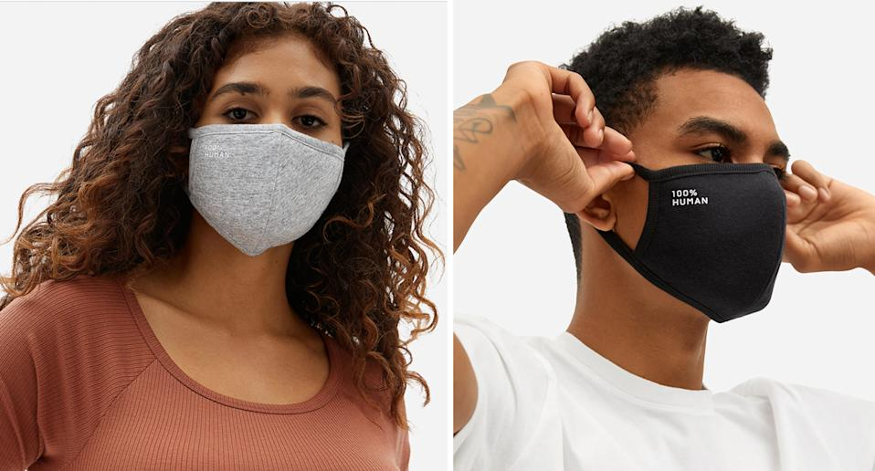 <p>Here's why these face masks have hundreds of top-rated reviews. (Everlane)</p>