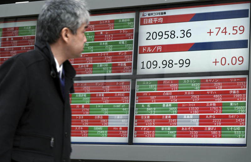 Asia shares mixed, most markets closed for Lunar New Year