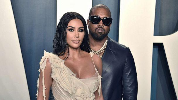 PHOTO: Kim Kardashian and Kanye West attend the 2020 Vanity Fair Oscar Party, Feb. 9, 2020, in Beverly Hills, Calif. (David Crotty/Patrick McMullan via Getty Images)