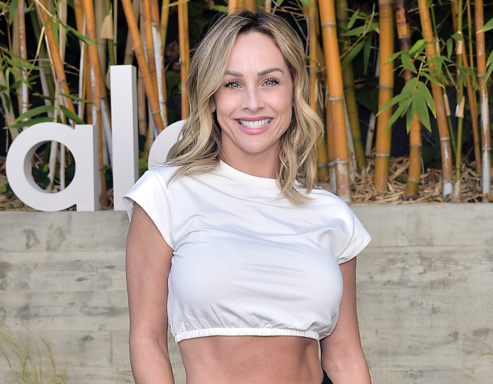 Former Bachelorette star Clare Crawley says she's getting her breast implants removed in the wake of a strange set of health issues. (Stefanie Keenan/Getty Images for Alo Yoga)