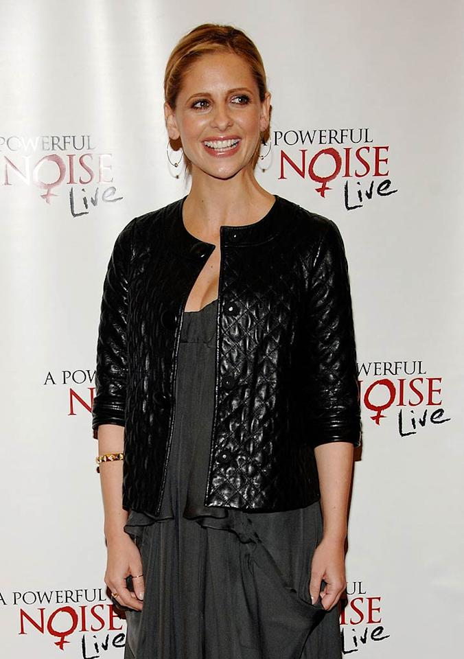 """April 14: Sarah Michelle Gellar turns 34 Amanda Edwards/<a href=""""http://www.gettyimages.com/"""" target=""""new"""">GettyImages.com</a> - March 5, 2009"""