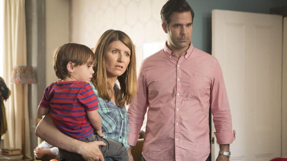 <p> Being a first-time parent isn&#x2019;t a picnic. Especially when your partner is from another country. And you don&#x2019;t really know them that well... or have indeed only met them once. Throw these factors into the pot and you get the beginnings of one of Amazon&#x2019;s most seriously underseen comedies. Sharon Horgan stars as an Irish schoolteacher in London who embarks on a week-long affair with Rob Delaney&#x2019;s Boston ad exec. Their efforts to stay together after they discover they&#x2019;re pregnant are what drive the series into hilarity and, at times, heartache. </p> <p> Catastrophe is funny as hell. Horgan and Delaney, who also wrote the entire show together, make their experience relatable and humourous without resorting to silly gags. Plus, Carrie Fisher&#x2019;s cameo as Delaney&#x2019;s mom is divine. Her little dog Gary even cameos with her! </p>