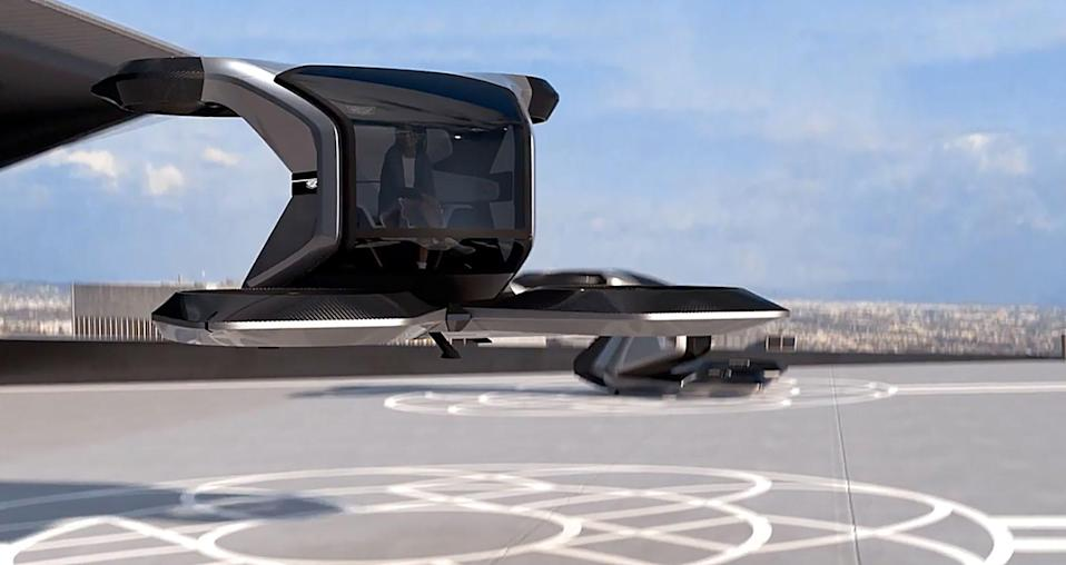 During a presentation at the 2021 Consumer Electronics Show, GM's Michael Simcoe, head of global design, showed the world the Cadillac Vertical Take-off and Landing (VTOL) concept. It is a personal flying car. GM gave no timeline for its launch.