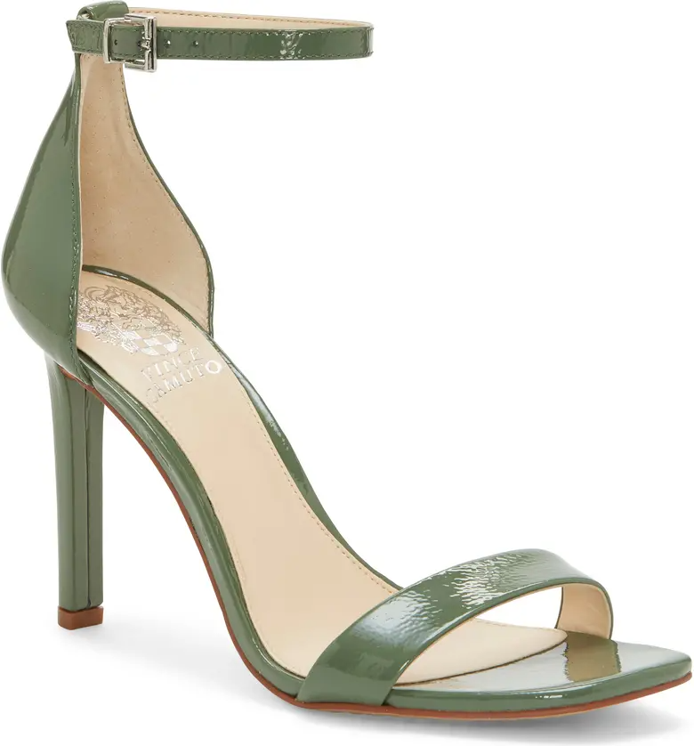 """<br><br><strong>Vince Camuto</strong> Lauralie Ankle Strap Sandal, $, available at <a href=""""https://go.skimresources.com/?id=30283X879131&url=https%3A%2F%2Fwww.nordstrom.com%2Fs%2Fvince-camuto-lauralie-ankle-strap-sandal-women%2F5257926%3Forigin%3Dkeywordsearch-personalizedsort%26breadcrumb%3DHome%252FAll%2520Results%26color%3Dgreen%2520tea%2520patent%2520leather"""" rel=""""nofollow noopener"""" target=""""_blank"""" data-ylk=""""slk:Nordstrom"""" class=""""link rapid-noclick-resp"""">Nordstrom</a>"""