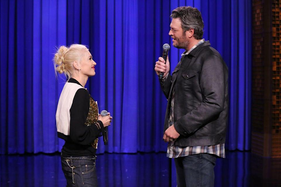 <p>Gwen and Blake promote <em>The Voice </em>on <em>The Tonight Show with Jimmy Fallon</em>. The duo compete in a lip sync battle, and things get steamy. They sing a duet of 'Endless Love,' and it's super obvious the chemistry is already there for these two. </p>