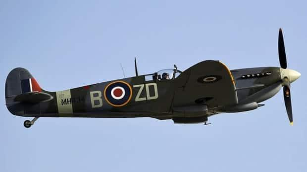The iconic Supermarine Spitfire. Ivan Trafford was learning to handle the powerful and manoeuvrable British fighter when he lost control of the aircraft and crashed.