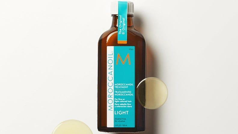 Moroccan oil can help provide hydration and nourishment to dry hair.