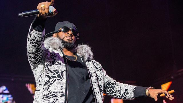 R. Kelly performs in Detroit on Feb. 21, 2018. (Photo: Scott Legato/Getty Images)