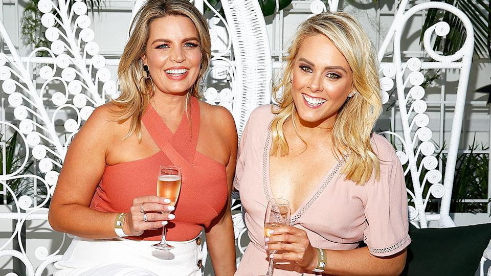 Caty Price and Candice Wyatt, pictured here at the 2019 Twilight Beach Polo.