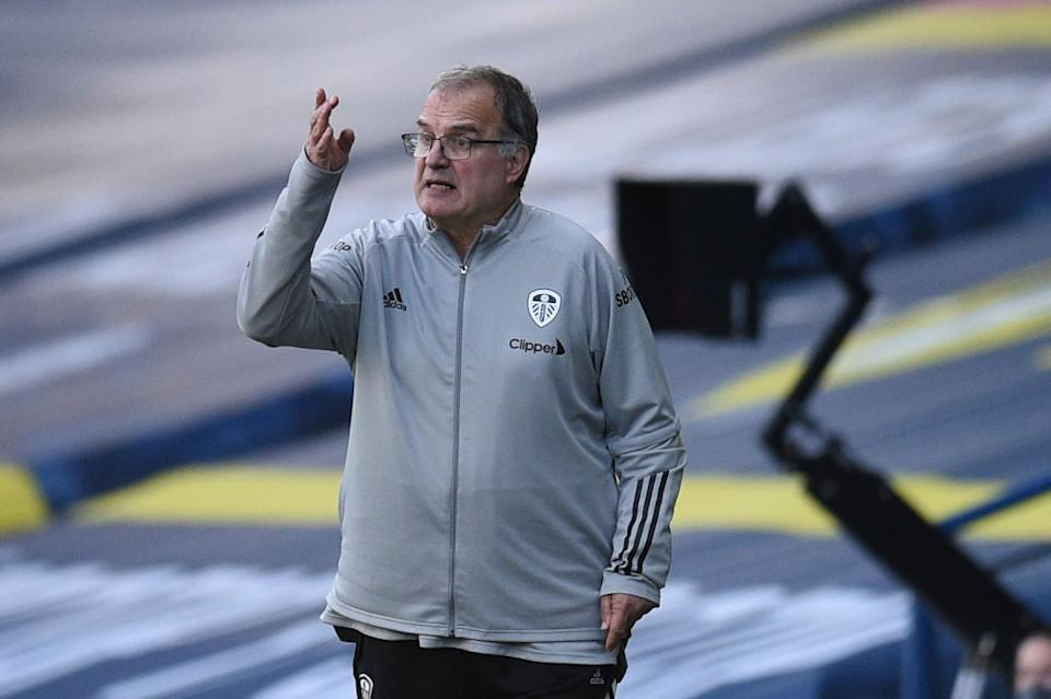 <p>Marcelo Bielsa is on the shortlist after guiding Leeds to promotion</p>POOL/AFP via Getty Images