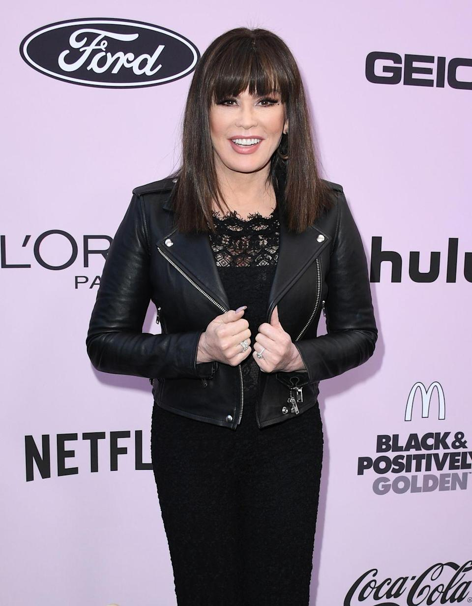 """<p>Growing up in a famous family and gaining stardom at an early age on <em>Donny & Marie</em>, Osmond's self-esteem took a hit. She told <a href=""""https://www.oprah.com/health/marie-osmond-on-her-weight-loss/all"""" rel=""""nofollow noopener"""" target=""""_blank"""" data-ylk=""""slk:Oprah"""" class=""""link rapid-noclick-resp"""">Oprah</a> that she had tried tons of diets (and suffer from <a href=""""https://www.prevention.com/health/health-conditions/a34634228/eating-disorders-older-women/"""" rel=""""nofollow noopener"""" target=""""_blank"""" data-ylk=""""slk:bulimia"""" class=""""link rapid-noclick-resp"""">bulimia</a>) to modify her weight. And the times she lost weight healthfully, she turned to NutriSystem and dancing on <em>DWTS</em>. """"We can lose weight for many reasons—we can do it to look good or to get in those tiny little jeans,"""" she told Oprah. """"But I'm telling you, health is the only way. Not only health physically, but health mentally.""""<br></p>"""