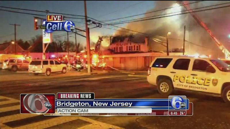 Fire damages popular restaurant in Cumberland County, N J