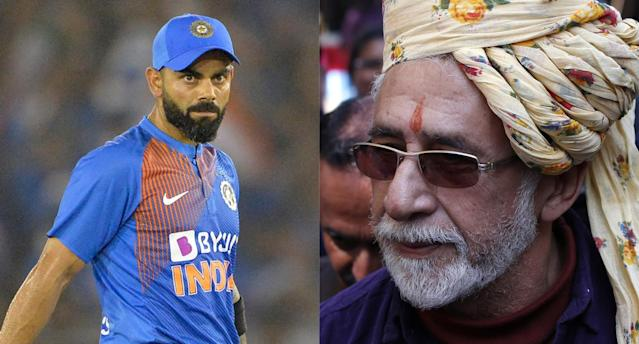 """""""Virat is not only the worlds best batsman but also the world's worst behaved player. His cricketing brilliance pales beside his arrogance and bad manners."""""""