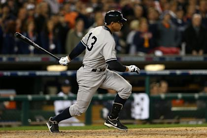 Alex Rodriguez hasn't played for the Yankees since Game 4 of the ALCS in 2012. (Getty Images)
